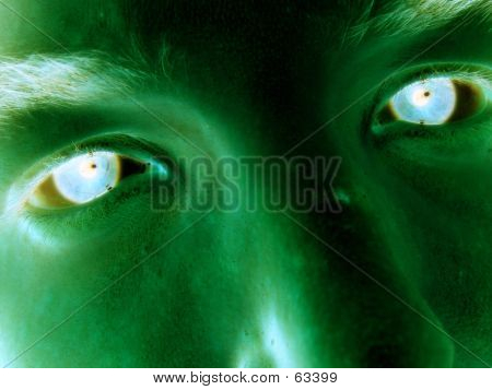 Possesed Human Green