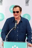 LOS ANGELES - APR 12:  Quentin Tarantino at the Jerry Lewis Hand and Footprint Ceremony at TCL Chine