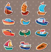 foto of brigantine  - Boat Stickers - JPG