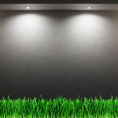 wood textured backgrounds in a room interior on the grass background