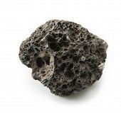 foto of pumice stone  - Piece of Lava stone - JPG