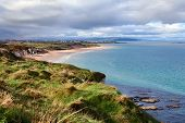 stock photo of ireland  - Portrush is a small seaside resort town in County Antrim Northern Ireland  - JPG