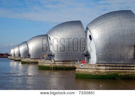 London's Thames Barrier