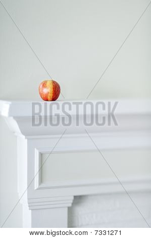 Apple On Mantle