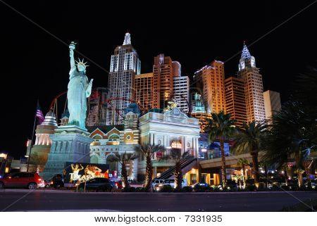 New York New York Hotel Casino, Las Vegas.