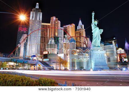 Las Vegas Street Night Scene