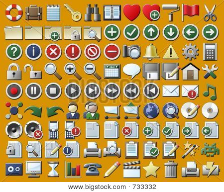 99 Internet und Multimedia Icons