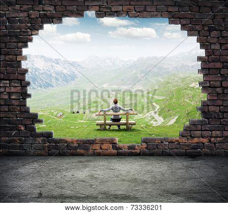 Window to freedom
