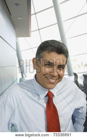 Portrait of Hispanic businessman