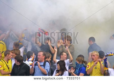 Ukraine ultra supporters