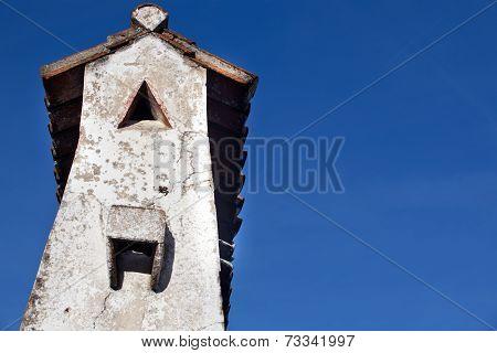 Chimney Of  Marvao, Portugal