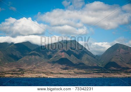 Clouds Over Maui Mountains