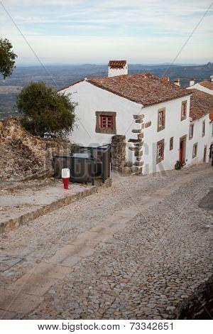 Streets Of Marvao, Alentejo, Portugal