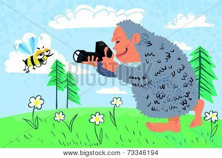 Yeti Photographer