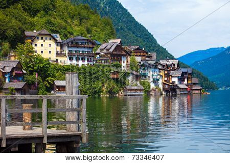 View Of Hallstatt Village