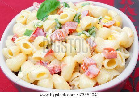 Macaroni Salad On Table