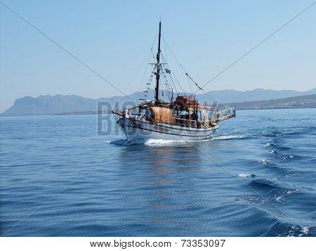 Tourist Boat, Chania