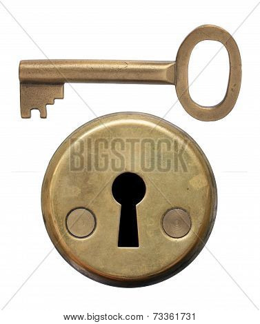 Key And Keyhole.