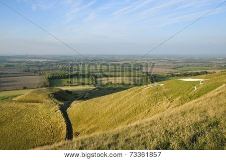 Dragon Hill & White Horse Hill