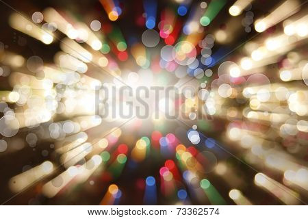 Bright blast of light background
