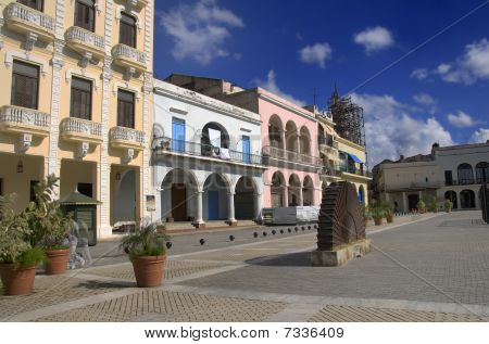 """plaza Vieja"" In Old Havana, Cuba. October 2009"