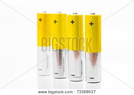 Battery Aaa Size Arrange For Use