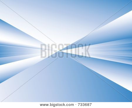 Abstract Background - Blue Perspective