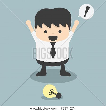 Businessmen See Ideas Fortuitous