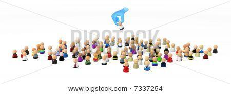 Cartoon Crowd, Handpicked