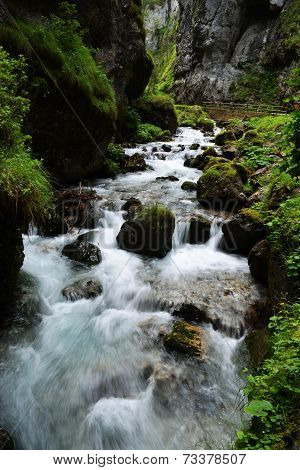 Sottoguda Canyon Italy