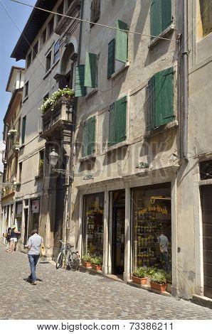 Street In Bassano Del Grappa
