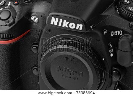 Closeup  Nikon D810