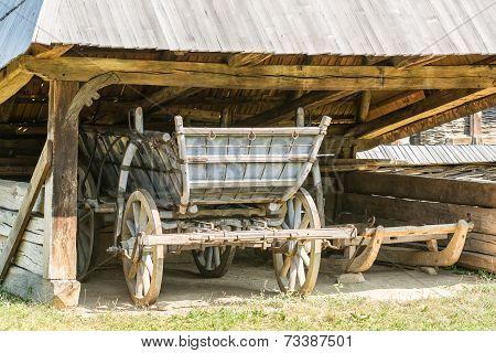 Old Romanian Wagon