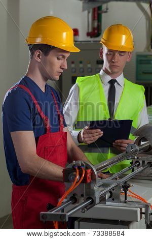 Supervision In A Factory