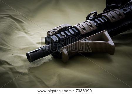M4 assault rifle custom frontset