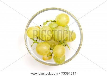 Bowl of grapes from