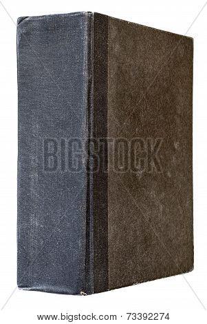 black vintage book