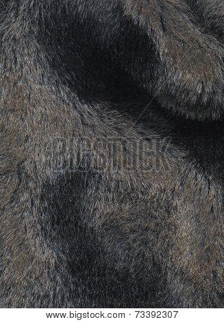 Dark artificial fur background