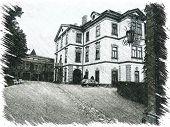 picture of bohemia  - Castle Velke Mezirici in illustration - JPG