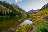 picture of rocky-mountains  - Colorado Mountains in Fall - JPG