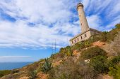 image of manga  - Cabo de Palos lighthouse near Manga Mar Menor Murcia at Spain - JPG