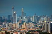 picture of petronas twin towers  - Kuala Lumpur is the seat of the Parliament of Malaysia - JPG