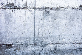 picture of mortar-joint  - Concrete surface with blocks joint lines and rich texture - JPG