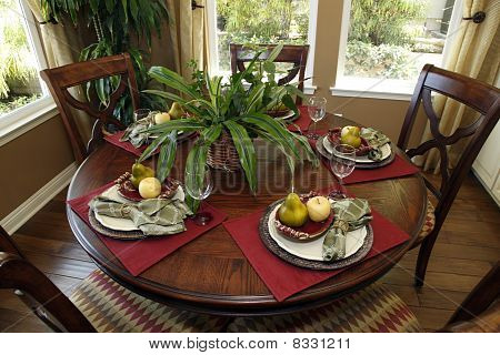 Luxury home dining table