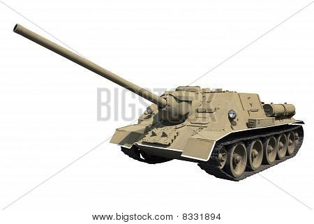 Self-propelled Gun SU-100