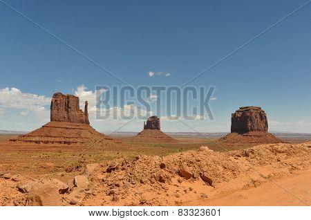 The Monument Valley, Utah, Arizona