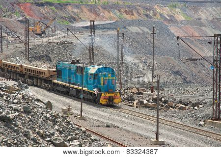 Train On The Opencast