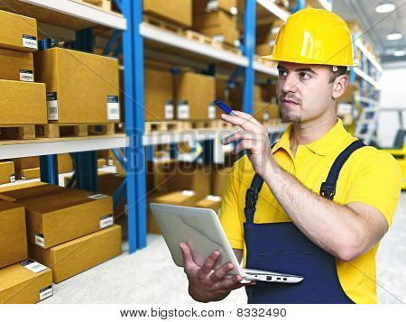 Labor Work In Warehouse