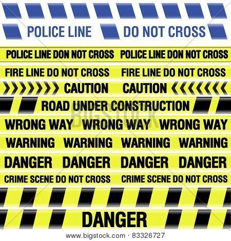 Police line tapes
