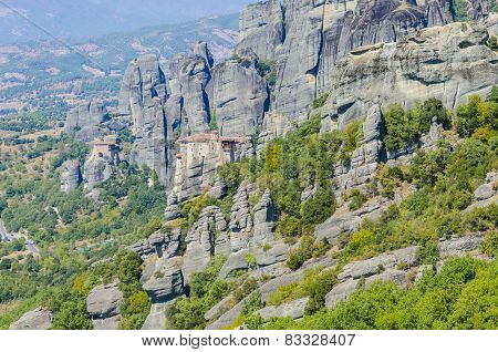 Meteora mountain Greece